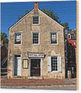 White Hall Tavern Harpers Ferry Virginia Wood Print