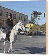White Horse In Bethlehem Street Wood Print