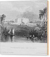White House, 1839 Wood Print