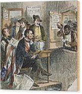White League, 1874 Wood Print