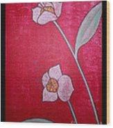 White Lotus Top Wood Print