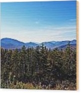 White Mountain National Forest II Wood Print