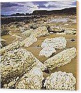 White Park Bay, County Antrim, Ireland Wood Print