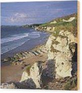 White Rocks Beach, Between Portrush & Wood Print