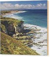White Rocks, Portrush, Co Antrim Wood Print