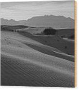 White Sands 2 Wood Print