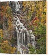 Whitewater Falls 1 Wood Print