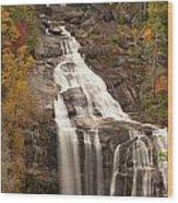 Whitewater Falls 3 Wood Print