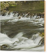 Whitewater River Rapids 3 Wood Print