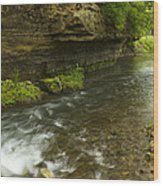 Whitewater River Spring 6 Wood Print