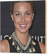 Whitney Port Wearing An Erickson Beamon Wood Print