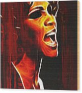 Whitneys Tears Wood Print