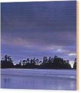 Wickaninish Beach, Pacific Rim National Wood Print