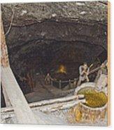 Wieliczka Salt Mine  Wood Print