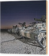 Wiesel 1 Atm Tow Anti-tank Vehicles Wood Print