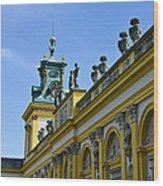 Wilanow Palace - Poland Wood Print