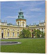 Wilanow Palace - Warsaw Wood Print