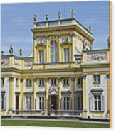 Wilanow Palace And Museum - Poland Wood Print