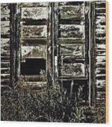 Wild Doors Wood Print by Empty Wall