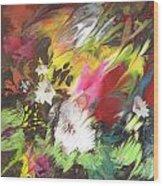 Wild Flowers 04 Wood Print