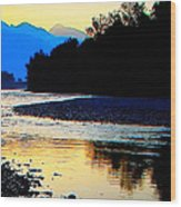 Wild Mountain Nature Wood Print