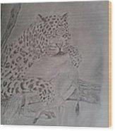 Wild Predator Wood Print