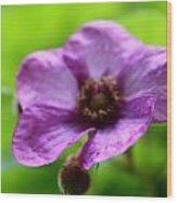 Wild Purples Wood Print