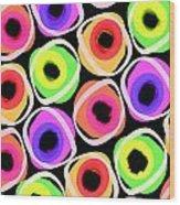 Wild Spots Wood Print