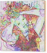 Wild Thoughts Wood Print