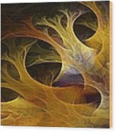 Wild Trees Wood Print