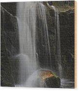 Wildcat Falls Yosemite National Park Wood Print