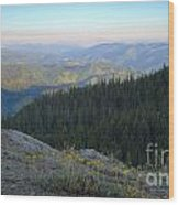 Wilderness View Wood Print