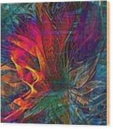 Wildfire Wood Print