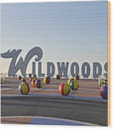 Wildwoods Wood Print
