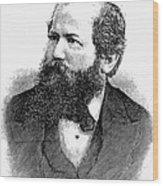 Wilhelm Steinitz (1836-1900) Wood Print