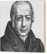 Wilhelm Von Humboldt Wood Print