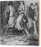Wilhelmina Of Prussia Wood Print