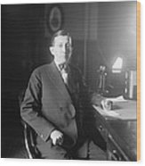 Will Hays 1879-1954, A Lawyer Wood Print by Everett