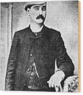 William Barclay Masterson Wood Print