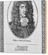 William Craven (1608-1697) Wood Print