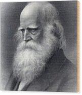 William Cullen Bryant 1794-1878 Was An Wood Print
