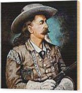 William F. Cody Wood Print