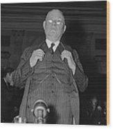 William Green 1873-1952, President Wood Print by Everett