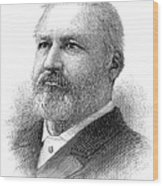 William Henry Hatch Wood Print