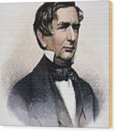 William Henry Seward Wood Print