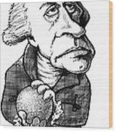 William Herschel, Caricature Wood Print