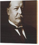 William Howard Taft - President Of The United States Wood Print by International  Images