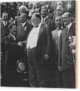 William Howard Taft 1857-1930 Receives Wood Print