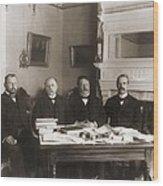 William Howard Taft Center Headed Wood Print