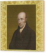 William Hyde Wollaston, English Chemist Wood Print
